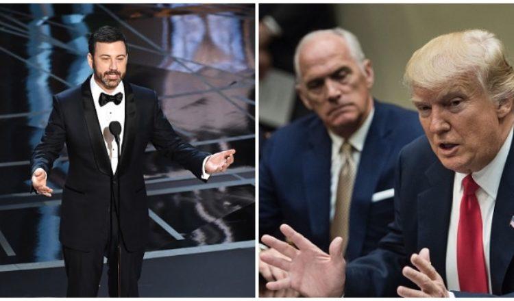 Kimmel fails miserably to get Trump reaction