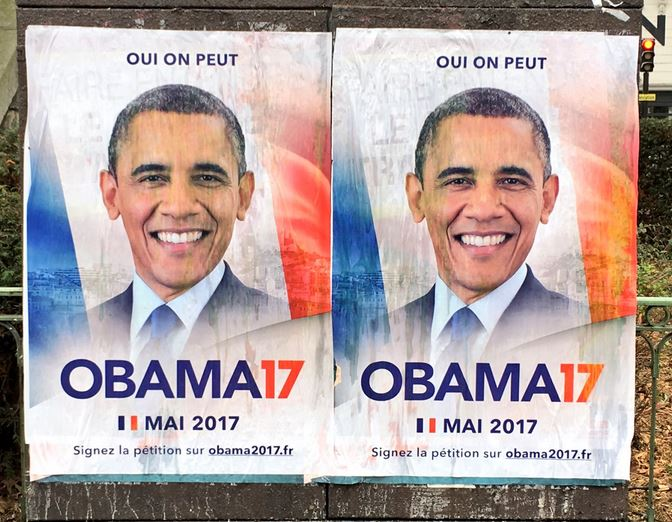 French Liberals Urging Barack Obama to Run For President of France