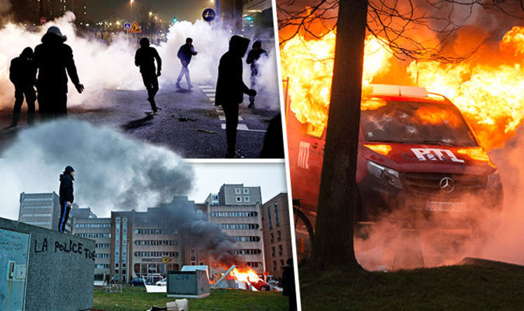 Police Struggle To Maintain Control of Country's Streets [VIDEOS]