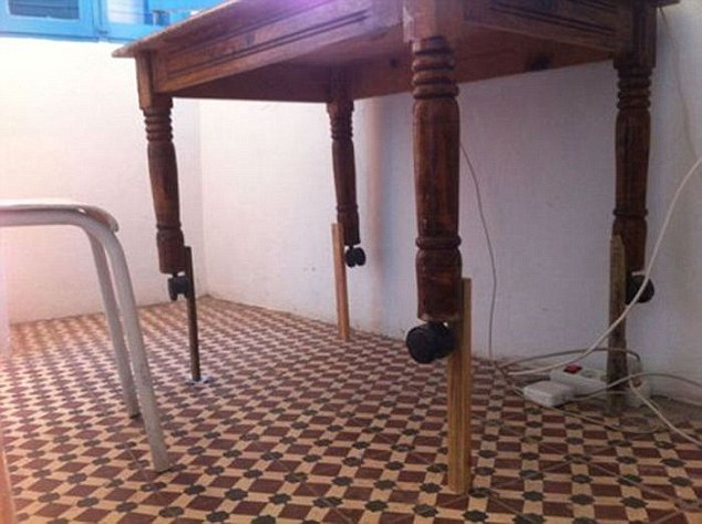 THE WORLD'S WORST EXAMPLES OF HOPELESS DIY HAVE BEEN REVEALED ON HILARIOUS INTERNET BLOG 'THERE, I FIXED IT.'