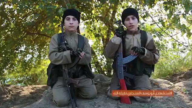 New ISIS Video Shows Two Teenagers Blow Themselves Up [VIDEO]