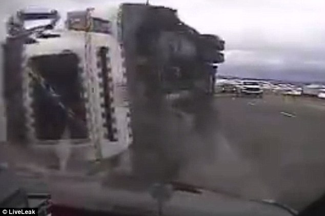 This Trucker's Day is Going Badly, Then it Gets Worse [VIDEO]
