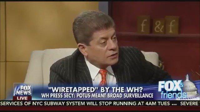 Judge Napolitano: Obama Used British Spy Agency to Spy on Trump