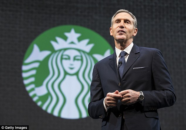 Starbucks Liberal CEO Steps Down ..May Run For President in 2020