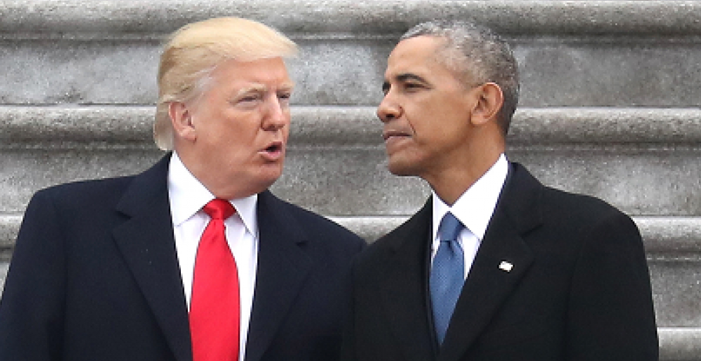 Here's What Obama Did To Ensure Leaks Under President Trump