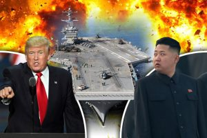 North-Korea-US-Strike-Group
