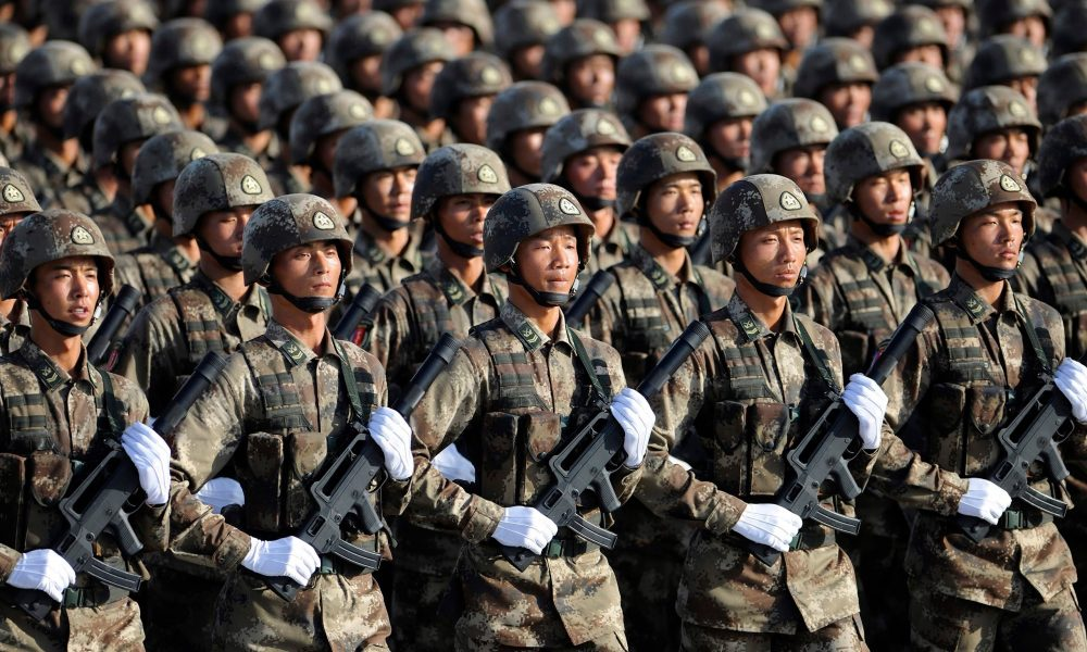 China In Massive Troop Movement