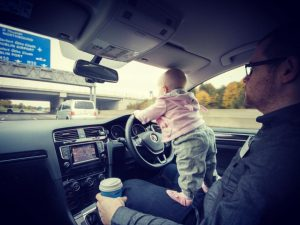 Warning: This Dad's Deranged (But Very Cool) Baby Pics May Freak Worried Moms Out [PHOTOS]