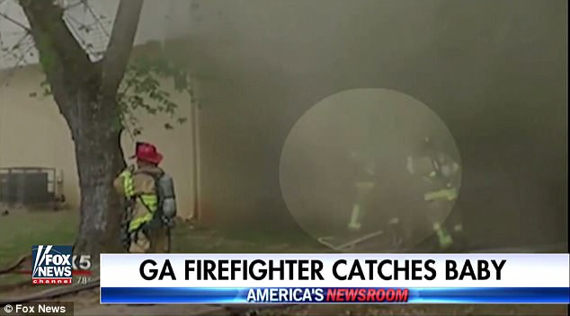 Firefighter Makes the Catch of a Lifetime