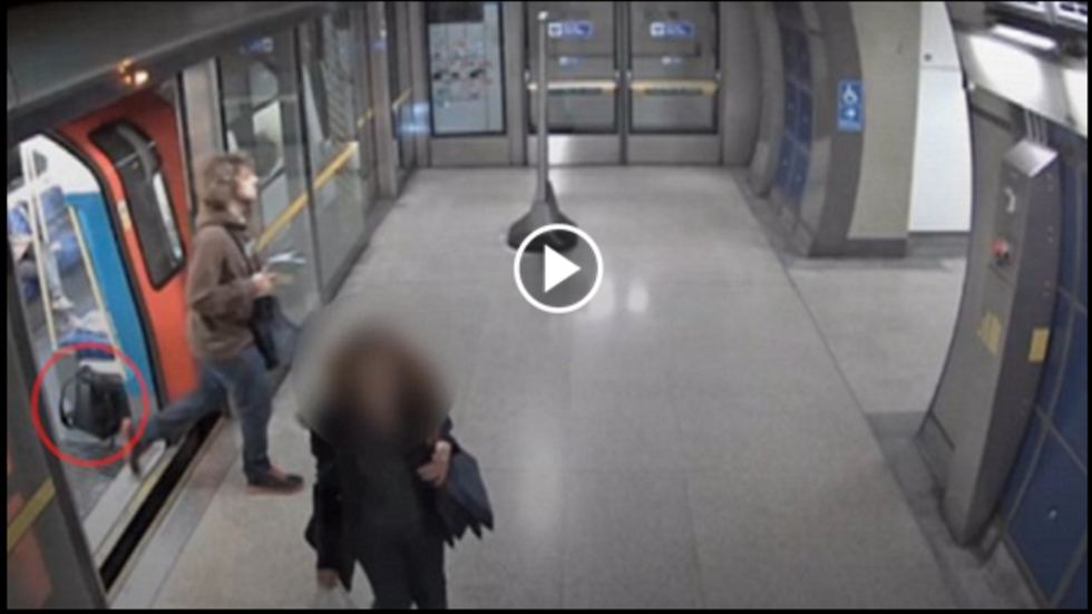 A Teen Arrested For Leaving A Backpack Filled With Explosives That Nearly Exploded – Caught By CCTV [WATCH]