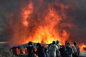 refugee fire