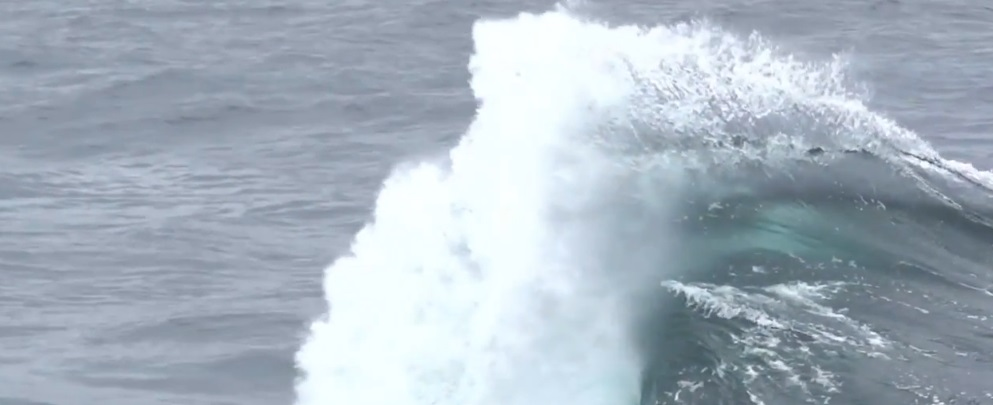 Waves in Slow Mo Like You've Never Seen Before [VIDEO]