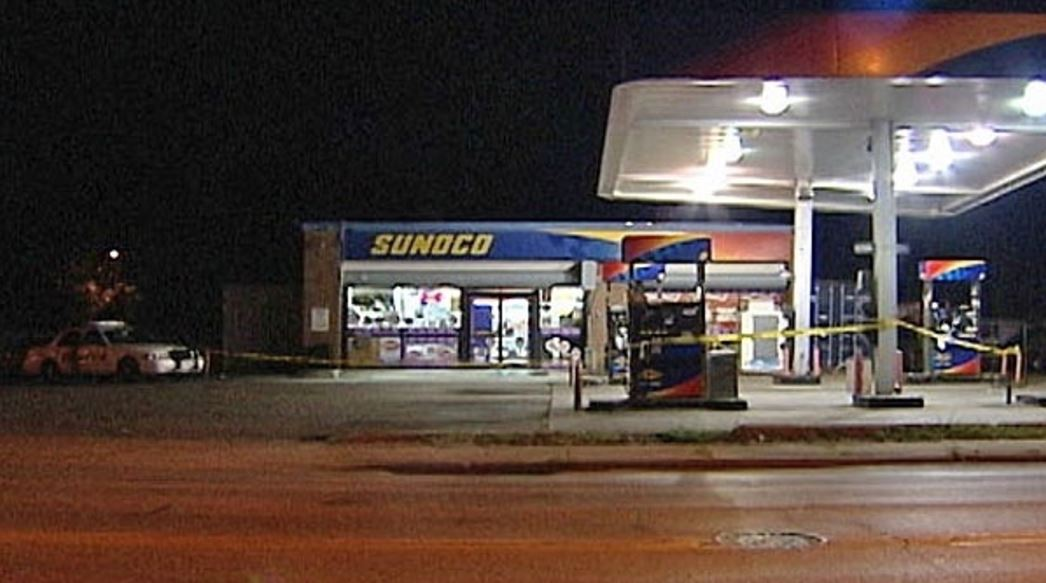 Sunoco food mart, where the incident happen