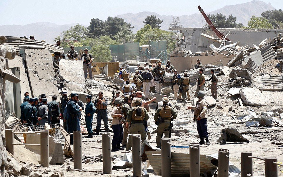 Terror Attack in Kabul Afghanistan Kills 90 Injures Over 400 [VIDEO and Slideshow]