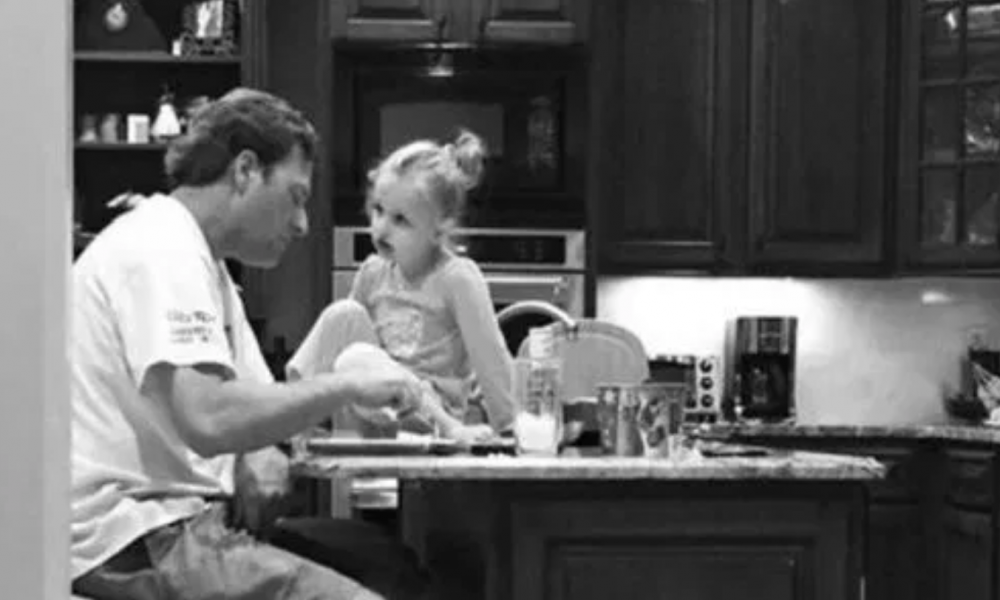 Wife Goes Off On Husband For Always Working, Then Hears Their Daughter Talking To Him