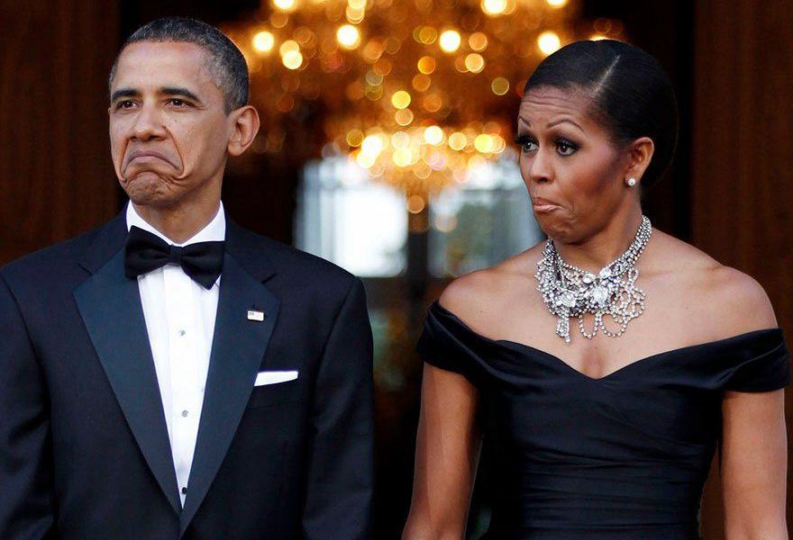 Obama's Accused of 'Deplorable Behavior' Amid Heated Trademark Dispute