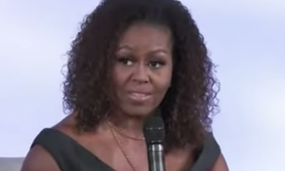 """JUST IN: Michelle Obama Goes Low Claiming Trump is """"Racist"""" for Calling Riots Violent"""