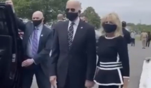 Video of Biden Looking Very Frail at Veterans Memorial Sparks Concerns Over His Health