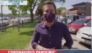 MSNBC Reporter Busted Shaming Folks for not Wearing Masks, Then He Is Exposed In A BIG Way