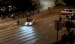 VIDEO: Car rams into two protesters in Seattle, women seriously hurt