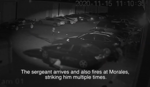 WATCH: Dramatic Video Shows Police Officer Running Toward Gunfire, Taking Out Gunman